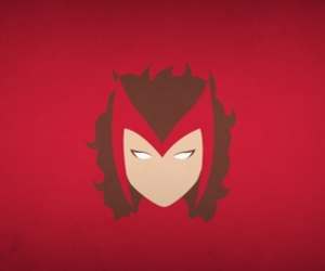 fan art, scarlet witch, and Marvel image