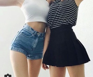 style, friends, and black image