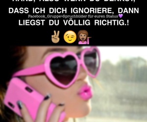 deutsch, phone, and sunglasses image