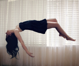 beautiful, falling, and floating image