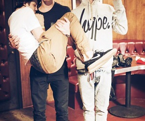 shawn mendes, taylor caniff, and matthew espinosa image