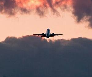manzara, uçak, and bulutlar image