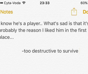 player, player quotes, and heartbreak image