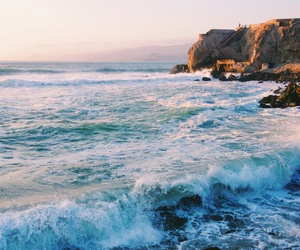 beach, nature, and shore image