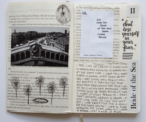 diary, ideas, and journal image