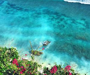beach, ocean, and bali image