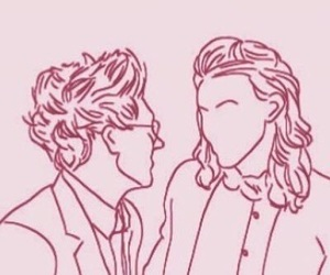 one direction and narry storan image