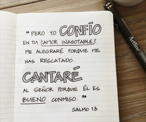 bueno, dios, and confío image