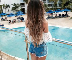 summer, goals, and hair image