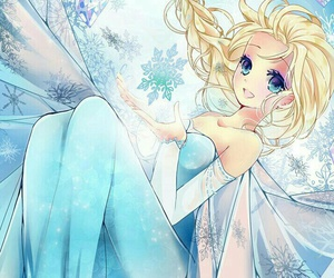 anime, frozen, and princess image