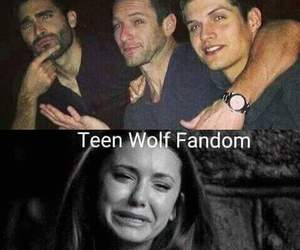 teen wolf, derek, and peter image