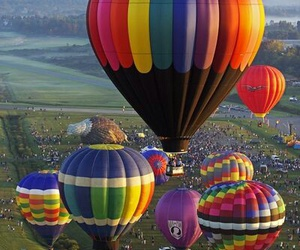 hot air balloon festival image