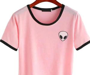 fashion, pink, and alien image