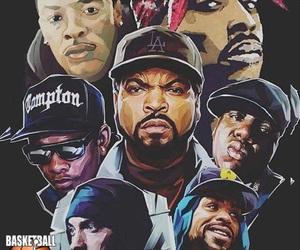 rap, biggie, and Eazy E image