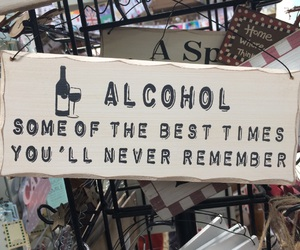 alcohol, drinking, and fun image