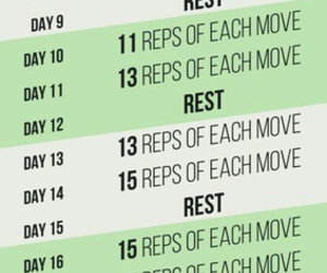 abs, exercises, and challenge image