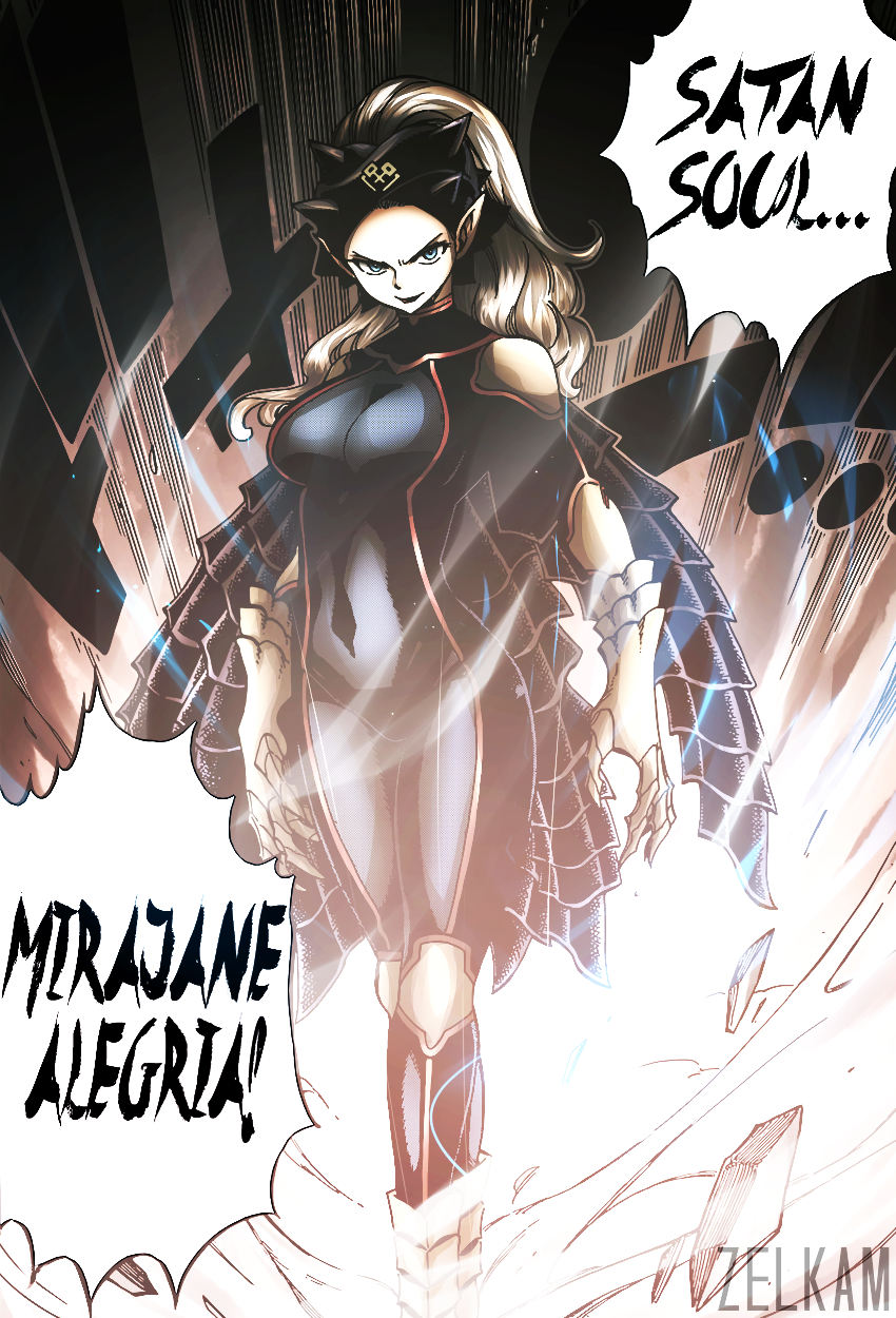 Mirajane Strauss Satan Soul Shared By Yupina On We Heart It Even the story arc's survivors are confirmed to either been absorbed by mirajane into her satan soul: mirajane strauss satan soul shared by