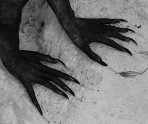 fantasy, dark, and hands image