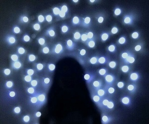 fairylights, lights, and photography image