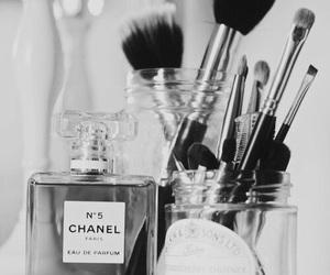 chanel, perfume, and makeup image