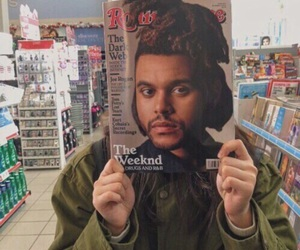 the weeknd, aesthetic, and theme image