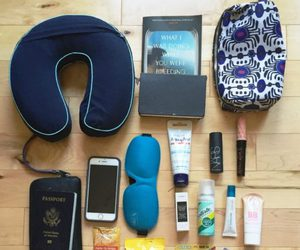packing, wanderlust, and travel image