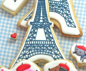 paris, Cookies, and sweet image