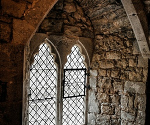medieval and window image