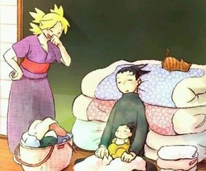 naruto, temari, and shikamaru image