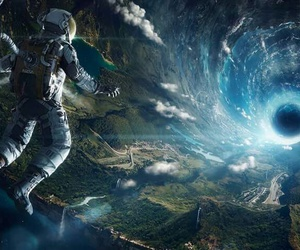 astronaut, science fiction, and space image