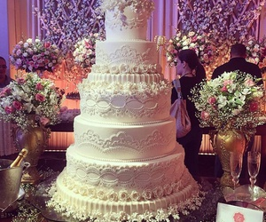 cake, festa, and weddingcake image