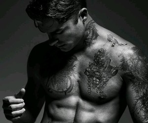 ink, photography, and male model image