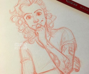 draw, Harry Styles, and art image