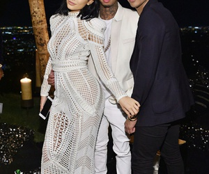 kylie jenner, tyga, and jenner image
