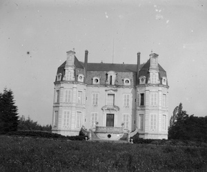 black and white, house, and old image