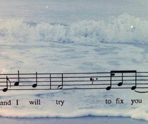 coldplay, fix you, and music image