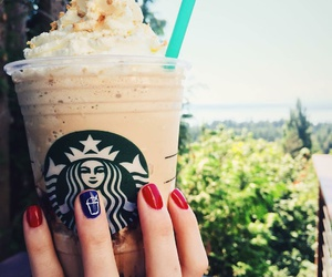 starbucks and nails image