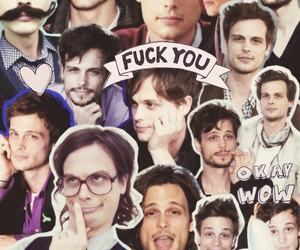 dr. spencer reid and matthew gray gubler image