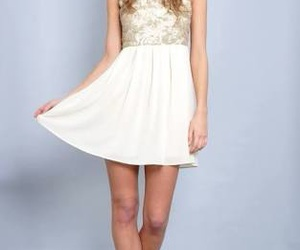 dress, cute, and elegant image