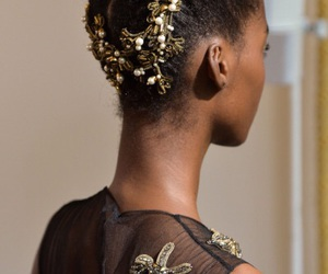 Alberta Ferretti, hair, and haute couture image