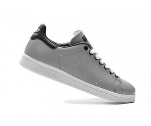 adidas shoes grey black image
