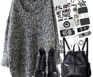cozy, Polyvore, and ootds image