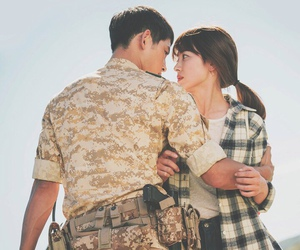 korean and descendants of the sun image