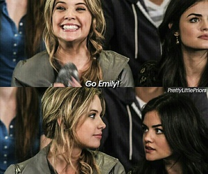 pretty little liars, aria montgomery, and lucy hale image