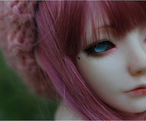 beauty, doll, and dolls image