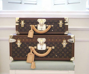 Louis Vuitton, fashion, and travel image