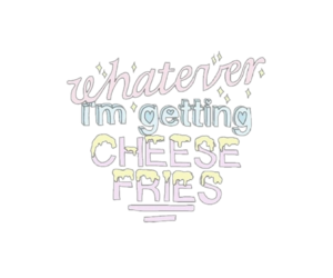 overlay, png, and cheese fries image