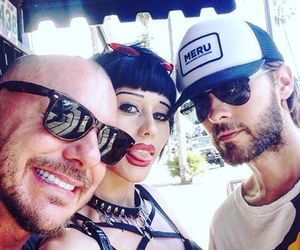 30 seconds to mars, brothers, and fan image