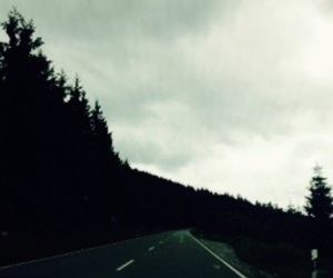 alone, faded, and road image