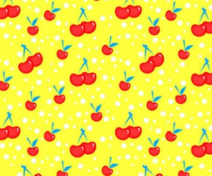 background, cherry, and fruit image